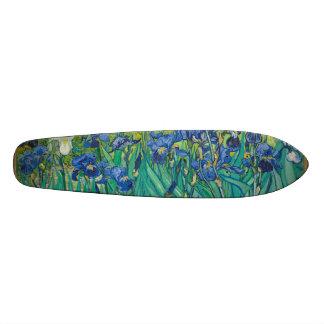 Irises by Vincent van Gogh 20 Cm Skateboard Deck