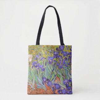 Irises Vincent Van Gogh Fine Art Tote Bag