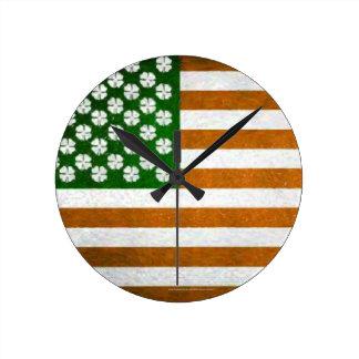 Irish American 015 Wall Clocks