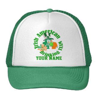 Irish American drinking team, St Patrick's day Cap