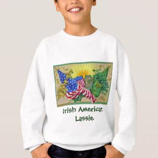 irish american flags t-shirts