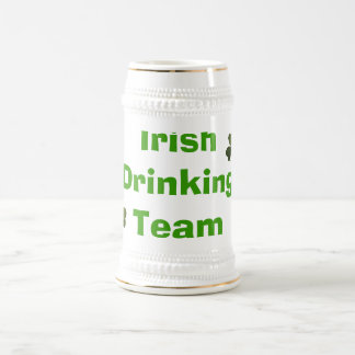 Irish Drinking Team Beer Steins