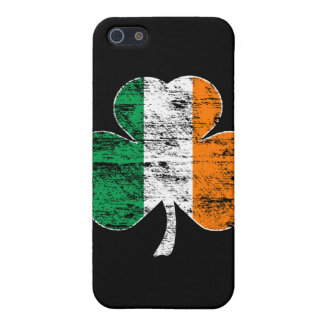 Irish Flag Shamrock (distressed)  iPhone 5/5S Covers