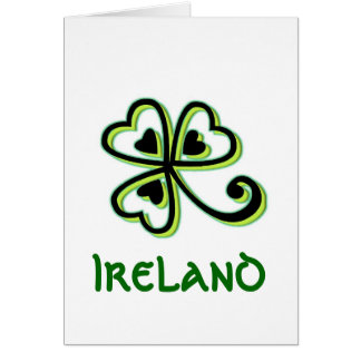 Irish Luck Greeting Card