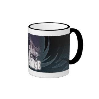 Iron Horse Coffee Cup Ringer Mug