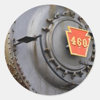 Iron Work Horse Round Sticker