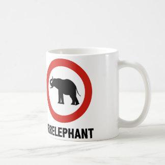 Irrelephant Basic White Mug