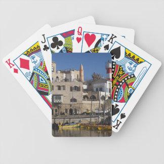 Israel, Tel Aviv, Jaffa, Jaffa Old Port Bicycle Poker Cards