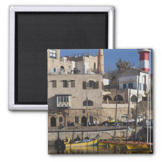 Israel, Tel Aviv, Jaffa, Jaffa Old Port Square Magnet