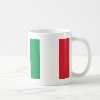 Italian Flag Basic White Mug