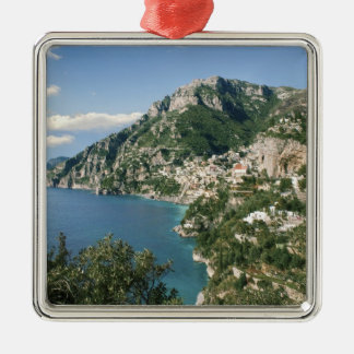 Italy, Campania, Sorrentine Peninsula, Positano, Silver-Colored Square Decoration