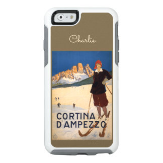 Italy Skiing custom name phone cases