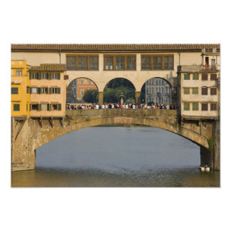 Italy, Tuscany, Florence, The Ponte Vecchio Photo Print