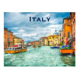 Italy Vintage Travel Tourism Add Postcard