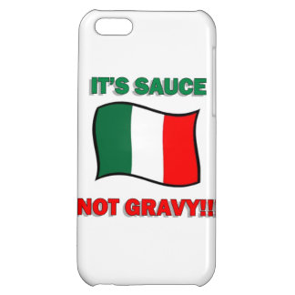 It's Gravy not sauce funny Italian Italy pizza tom iPhone 5C Cover