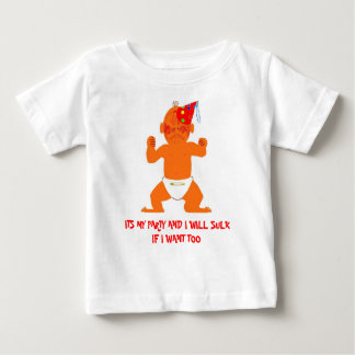 ITS MY PARTY AND I WILL SUL... SHIRT