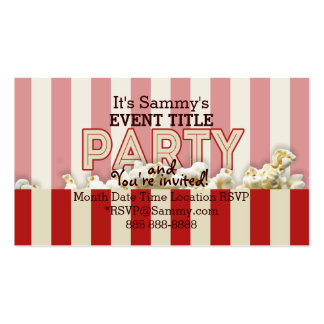 It's Your Personalized Party Supply. Pack Of Standard Business Cards