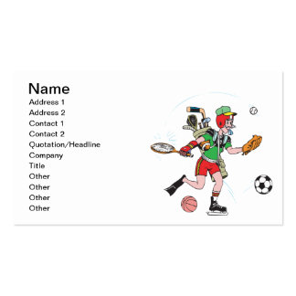 Jack Of All Trades Pack Of Standard Business Cards