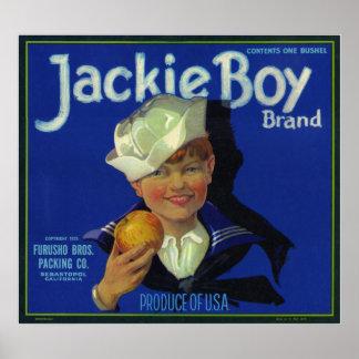 Jackie Boy Poster