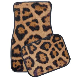 Jaguar Print Floor Mat