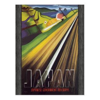 Japan Japanese Government Railways, Vintage Postcard