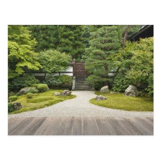 Japan, Kyoto, Sennyuji Temple Garden Postcard