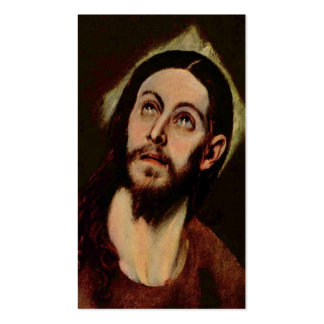 Jesus Christ circa 1580-1585 Pack Of Standard Business Cards