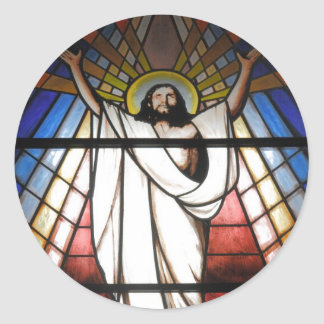 Jesus is Our Savior Round Sticker