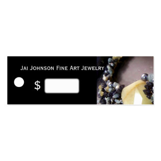Jewelry Merchandise Price Tags Pack Of Skinny Business Cards
