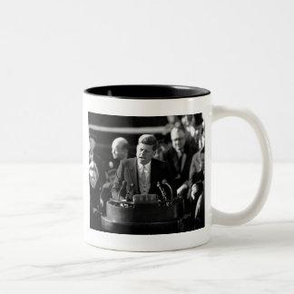 JFK Inauguaration Two-Tone Mug