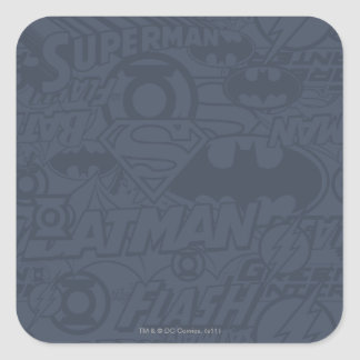 JL Core Supreme 8 Square Sticker