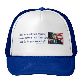 John F Kennedy Cap
