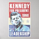 John F. Kennedy Historic Presidential JFK Poster