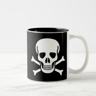 Jolly Roger Two-Tone Mug