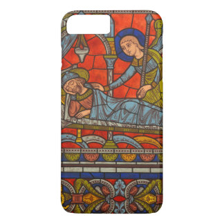 Joseph's Dream Stained Glass Window Chartres iPhone 7 Plus Case