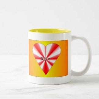 Joy Heart Mugs