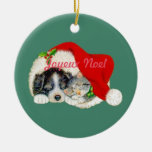 Joyeux Noel Christmas Ornament French Canadian