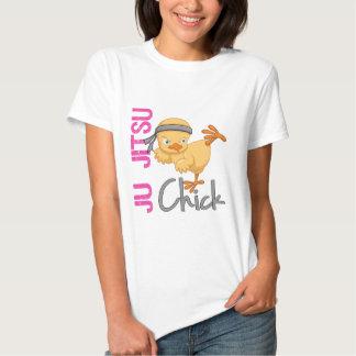 Ju Jitsu Chick Shirts
