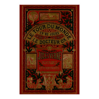 Jules Verne Around The World In Eighty Days Poster