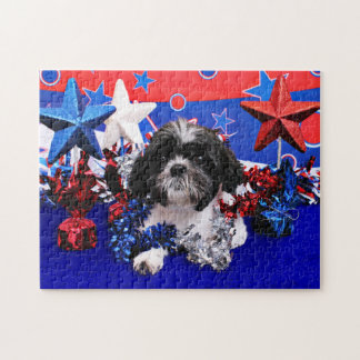 July 4th - Shih Tzu - Sadie Puzzle