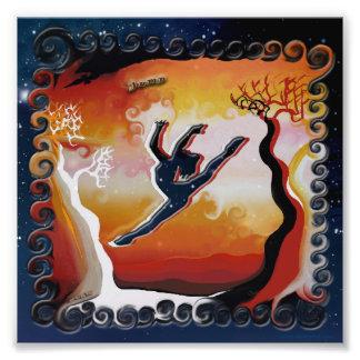 """Jump"" - original artwork print Photographic Print"