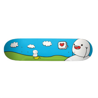 Just be Friends 18.1 Cm Old School Skateboard Deck
