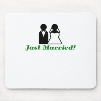 Just Married Mouse Pad