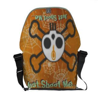 Just Shoot Me... Humorous Messenger Bag