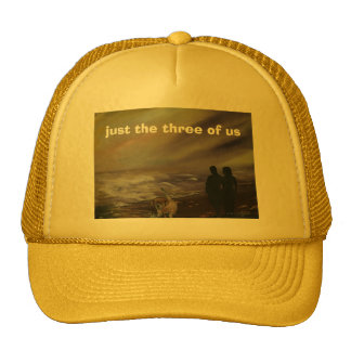 just the three of us cap