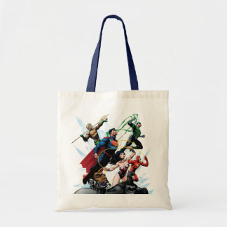 Justice League - Group 1 Budget Tote Bag