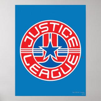 Justice League Logo Poster