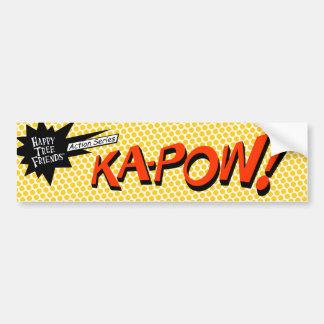 KA-POW! sticker Bumper Sticker
