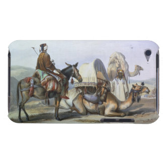 Kafila with a Camel Bearing a Hodesh, illustration Barely There iPod Covers