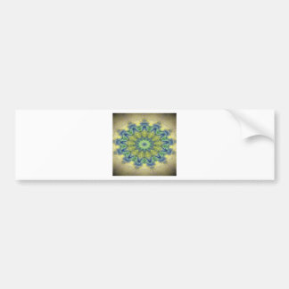Kaleidoscope design product image-made with love bumper sticker